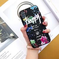 涂鸦手机壳苹果6s女款iphone8plus/7/6/x保护套硅胶软个性字母潮