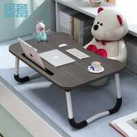 【限时抢购,全店七折】床上书桌笔记本电脑桌学生学习小桌子可折叠简易做桌懒人写字家用