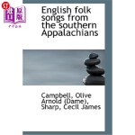 【中商海外直订】English Folk Songs from the Southern Appalachians