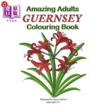 【中商海外直订】Amazing Adults Colouring Book: Guernsey