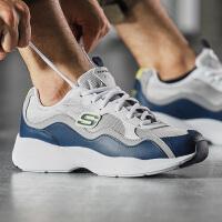 Skechers斯凯奇男鞋熊猫鞋D'lites厚底运动鞋999859