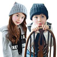 韩国KK树儿童套头帽男童女童2-4-8岁小孩护耳套头帽子宝宝秋冬季