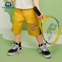 【2件3折价:47.7元】迷你巴拉巴拉米奇男童裤子2020夏新款儿童薄款舒适工装裤