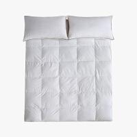 【2件5折】当当优品羽绒床垫 纯棉立体加厚鸭绒床垫 双人床褥150*200cm