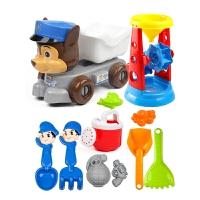 宝宝玩沙子挖沙漏铲子工具戏水玩具儿童沙滩玩具车套装