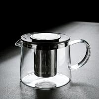 玻璃茶具泡茶壶耐高温泡茶器单壶花茶家用