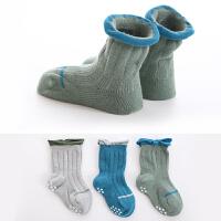 儿童袜子长筒袜宝宝袜子松口中筒袜秋冬1-3-5-7-9岁