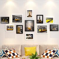 相框创意挂墙组合套装一面墙像框架九宫格背景墙上照片墙装饰 组合一套价(占墙约145x76cm)