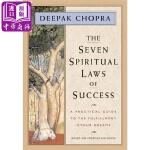 【中商原版】迪帕克・乔普拉:成功的七大精神法则(精装) 英文原版 The Seven Spiritual Laws o