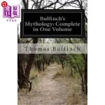 【中商海外直订】Bulfinch's Mythology: Complete in One Volume