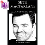 【中商海外直订】Seth MacFarlane Calm Coloring Book