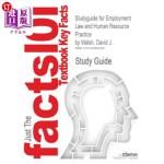 【中商海外直订】Studyguide for Employment Law and Human Resource Pr