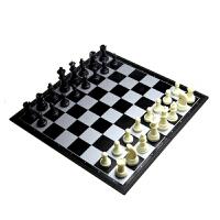 儿童磁性塑料折叠棋盘大号象棋培训国际象棋