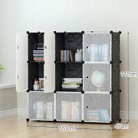 简易衣柜塑料衣橱卧室收纳柜组装钢架现代简约经济型宿舍单人组合