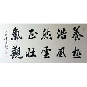 中国书协会员,河南省书协会员,一级书法师王国强(养浩然正气)18