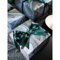 【流墨星河】款生日礼物包装纸礼品包书皮纸情人节ins背景纸恋人大理石纹系列创意包装纸