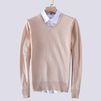 春秋男士毛衣V领韩版上衣修身保罗POLO针织衫线衣打底纯色套头衫 发货周期:一般在付款后2-90天左右发货,具体发货时间请以与客服协商的时间为准