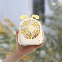 小风扇 便携式迷你usb电风扇学生桌面静音可爱随身充电小风扇小型