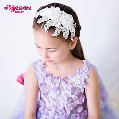 儿童头饰公主发饰皇冠女孩发卡发箍头箍花童