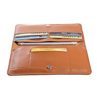 [礼品卡]Remax 手抓式便携皮套 手机收纳钱包 iPhone6S plus通用手机卡包 包邮 Remax/睿量