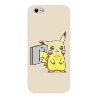 iphone6s手机壳 比卡丘日韩卡通可爱苹果7plus硅胶8全包X软壳清新