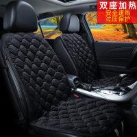 汽车加热坐垫冬季座垫 直销批发 车用前排座垫 133*49CM后排加热坐垫 汽车毛绒加热坐垫