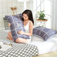 枕头枕芯一对装整头学生宿舍床一只装护颈椎枕单人男女孩