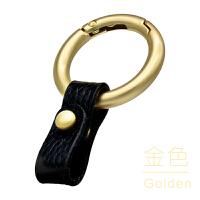 钥匙扣汽车钥匙扣专用宝马大众头层牛皮创意个性男女钥匙链挂件圈环