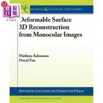【中商海外直订】Deformable Surface 3D Reconstruction from Monocular