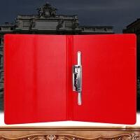 合唱谱夹 皮质文件夹合同签约仪式本签约本签字板夹子红色报告合唱谱夹