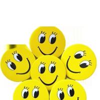 酒店员工笑脸工号牌 别针笑脸胸牌微笑服务牌酒店餐饮员工牌卡通胸牌个性徽章胸牌 BX