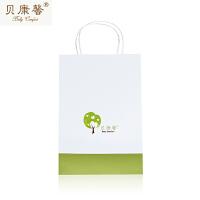 【当当自营】贝康馨童装礼品购手提袋 加厚牛皮纸简约时尚礼品包装袋