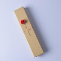 复古创意牛皮纸盒首饰盒戒指手链耳钉项链小饰品礼品包装盒子