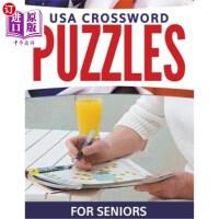 【中商海外直订】USA Crossword Puzzles For Seniors