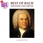 【中商海外直订】Best of Bach for Flute and Guitar