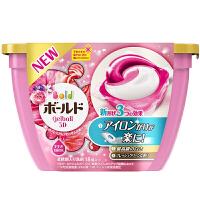 【宝洁】碧浪进口洗衣凝珠 18颗 粉色优雅牡丹花香