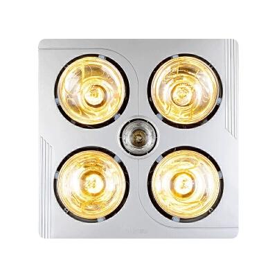 浴霸吊灯暖浴霸四灯取暖换气照明三合一防爆防水 雷士三合一浴霸