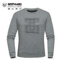 【过年不打烊】诺诗兰新款户外男式运动休闲防风保暖卫衣GL075609