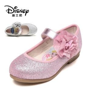 【达芙妮集团】迪士尼 秋季圆头花朵搭攀可爱公主风单鞋