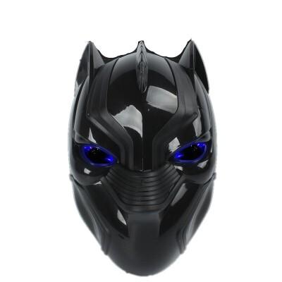 儿童节面具男蜘蛛侠美国队长钢铁侠黑豹头盔化妆舞会派对道具