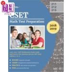 【中商海外直订】CSET Math Test Preparation 2018-2019: CSET Mathemat