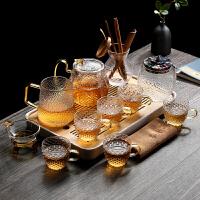 耐热玻璃茶具套装功夫茶盘家用煮茶壶茶杯泡茶壶整套