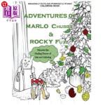 【中商海外直订】Adventures of Marlo Chubbs & Rocky Fuzz