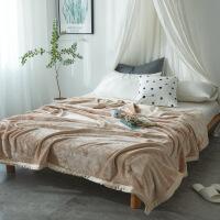冬季保暖毯子学生宿舍毛毯冬季单人午睡盖毯珊瑚绒毯双人毛巾被子