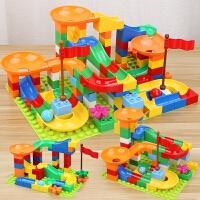 积木拼装玩具益智轨道男孩3岁以上智力动脑