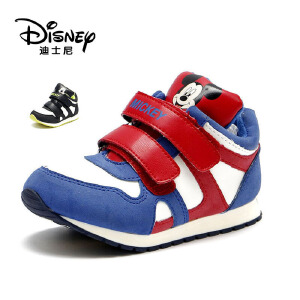 【达芙妮集团】迪士尼 冬加绒男童休闲卡通短靴