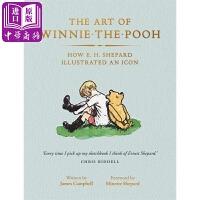 【中商原版】小熊维尼的诞生:欧内斯特・霍华德・谢帕德的标志性插画 英文原版 The Art of Winnie-the