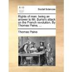 【预订】Rights of Man: Being an Answer to Mr. Burke's Attack on