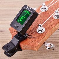 可旋转小提琴乐器配件调音器吉他自动校音器夹子