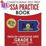 【中商海外直订】Pennsylvania Test Prep Pssa Practice Book English L